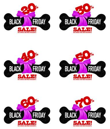 tag: Black Friday sales tag.
