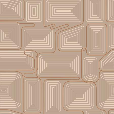 braids: Vector seamless pattern. Modern stylish texture. Geometric striped ornament. Full color linear braids