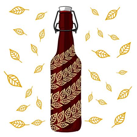 brewery: Vintage craft beer brewery emblems and  label