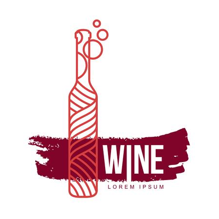 Wine logo templates.