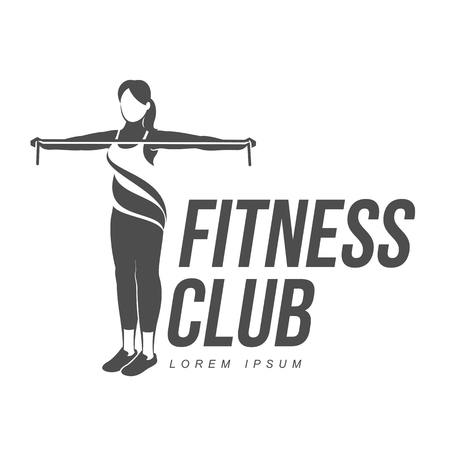Fitness related illustration.