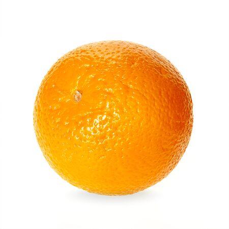 Oranges fruit isolated on white background. Raw fruit