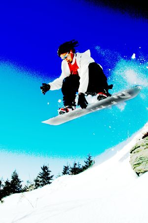 snowboarder Stock Photo - 11994798
