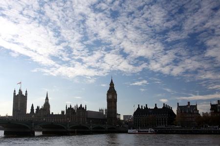 olympic game: Big Ben with bridge, London, UK