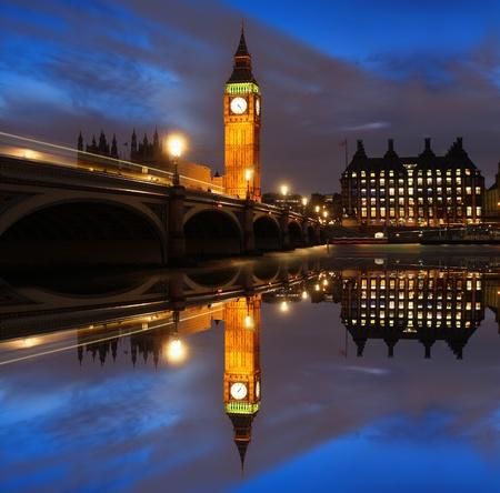 england politics: Big Ben in the evening, London, UK