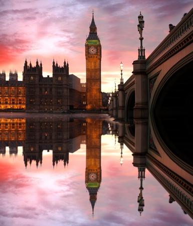 ben: Big Ben in the evening, London, UK