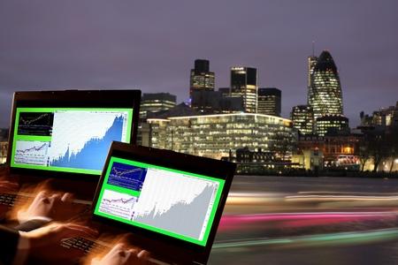 London Stock-exchange, UK Stock Photo - 12020641