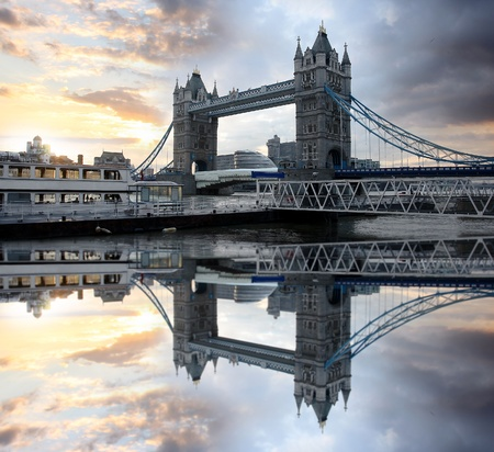 Famous Tower Bridge, London, UK  photo