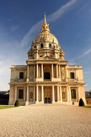 ile de france: Paris, Les Invalides in spring time, famous landmark, France  Stock Photo