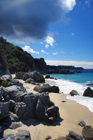 azure coast: Fantastic Calabria azure coast in Italy