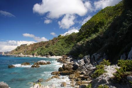 calabria: Fantastic Calabria azure coast in Italy
