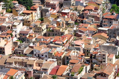 living idyll: Taormina town in Sicily