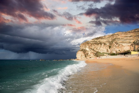 calabria: Fantastic Calabria azure coast in Italy Stock Photo