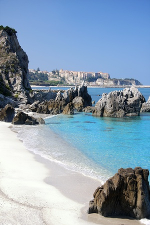 calabria: Beautiful coast of Calabria in Italy
