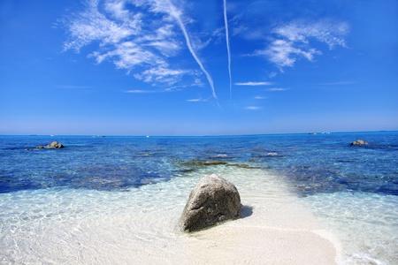 turkey beach: Beautiful coast of Calabria in Italy