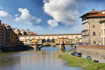 Bridge Ponte Vecchio in Florence, Italy  photo
