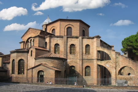 redemption of the world: Ravenna, San Vitale, famous mosaic, Italy
