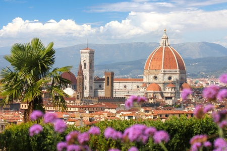 Florence in de lente, Toscane, Italië Stockfoto - 12159498
