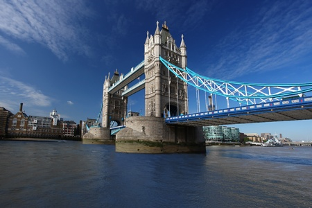 london city: Famous Tower Bridge, London, UK