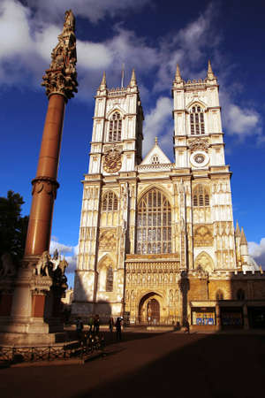 saturate: London, Westminster Abbey, UK
