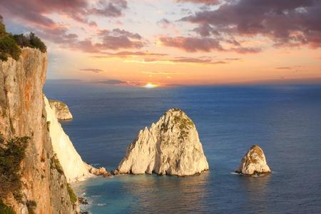 Beautiful cliffs in Zakynthos Island, Greece Stock Photo - 13006398