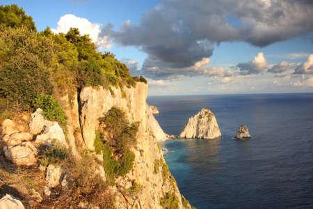 Beautiful cliffs in Zakynthos Island, Greece Stock Photo - 13006399