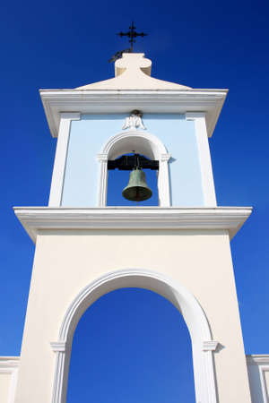 church bells: Church bells in Greece, Zakynthos Island Stock Photo
