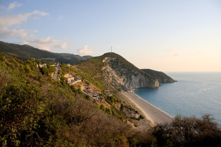 Milos beach, Lefkas Island, Greece photo