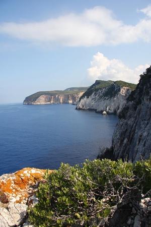 Lefkas Island in Greece photo