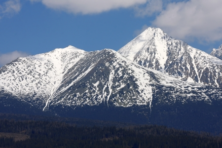 High Tatra during a spring time, Slovakia Stock Photo - 13679650