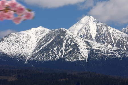 High Tatra during a spring time, Slovakia photo