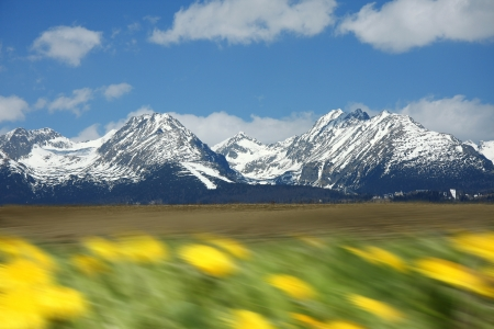 High Tatra during a spring time, Slovakia Stock Photo - 13679645