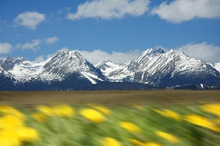 High Tatra during a spring time, Slovakia Stock Photo - 13679645