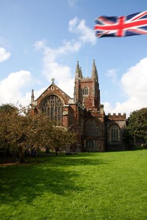 Totnes old church, Devon, England photo