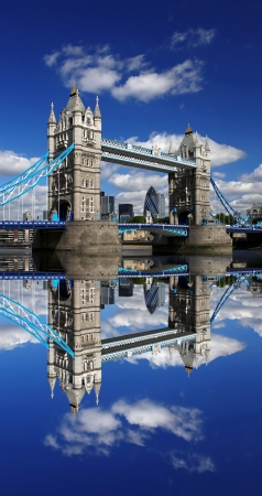 Famous Tower Bridge in London, England Stock Photo - 13988464