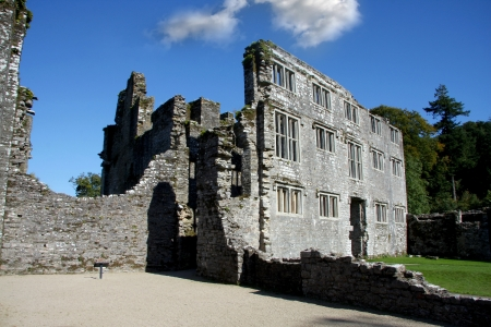 manor: old castle, Berry Pomeroy, Totnes,England Editorial