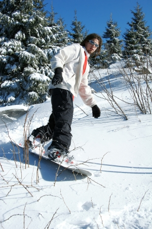 Snowboarder  Stock Photo - 14846675