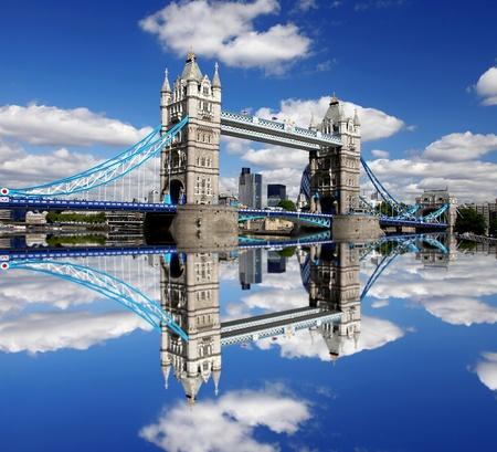 Famous Tower Bridge in London, England photo