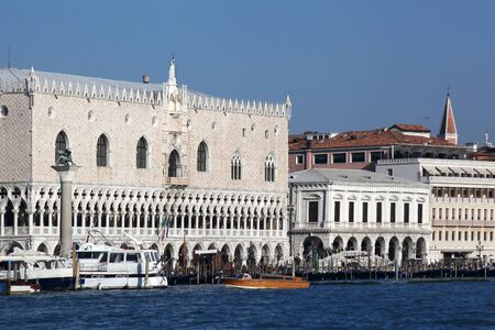 venezia: Doge palace in Venice, Italy Editorial
