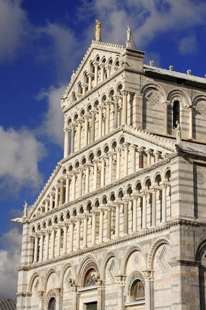 Pisa cathedral in Italy photo