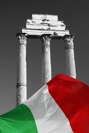 peripteral: Forum Romanum, Rome, Italy