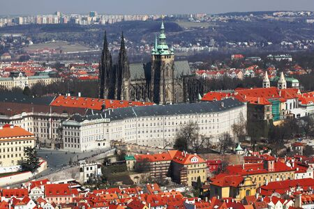 Prague Castle in Czech Republic photo