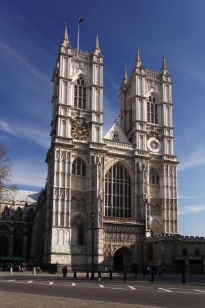 city of westminster: Westminster abbey in London, England Stock Photo