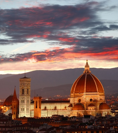 florence italy: Cathedral in Florence, Italy