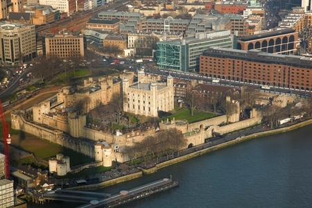 Tower Hill with Thame in London, England photo