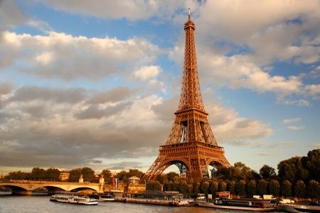 Eiffelturm in Paris, Frankreich Standard-Bild