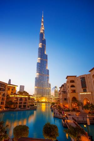Dubai Burj Khalifa, l'edificio più alto del mondo misura 828 m Emirati Arabi Uniti Archivio Fotografico - 26639744