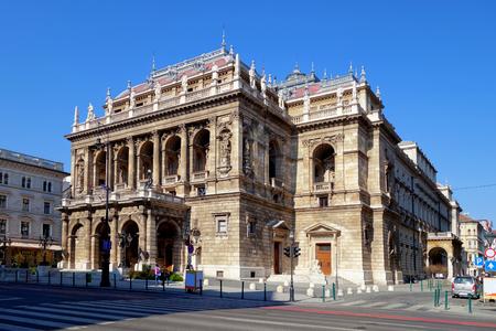 chanteur opéra: L'Opéra national de Budapest, Hongrie Éditoriale