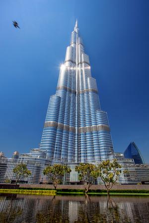 highest: Burj Khalifa, the tallest skyscraper in the world, Dubai, United Arab Emirates Editorial