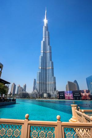 Burj Khalifa, the tallest skyscraper in the world, Dubai, United Arab Emirates